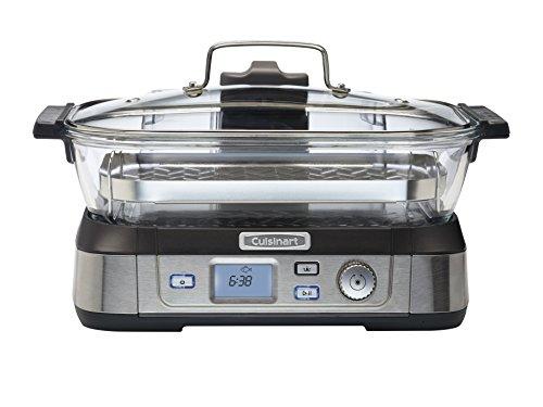 Cuisinart-STM1000E-Cookfresh-Cuiseur-Vapeur-Digital-Acier-Bross-Inoxydable-5-L-1800-W-0
