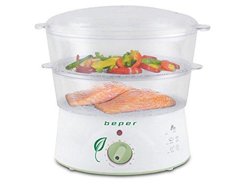 BEPER-90501-Cuiseur-Vapeur-400-W-5-liters-Blanc-0